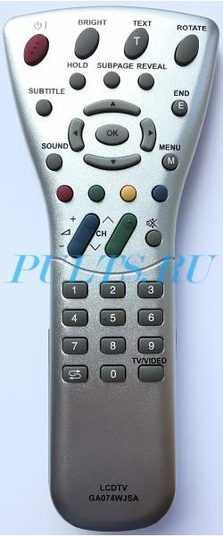 Данный пульт подходит к следующей аппаратуре: телевизор Sharp LC-13E1K телевизор Sharp LC-15E1E телевизор Sharp...