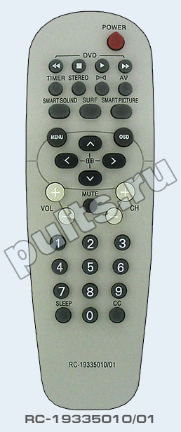 PHILIPS телевизор 29PT8520/12. тот пульт подходит к следующей аппаратуре.  Вы смотрите фотографию с сайта...