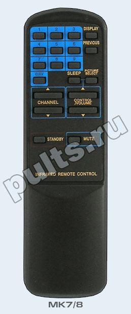 Пульт Funai MK-10 был создан, чтобы управлять телевизорами.  2 батарейки для этого пульта - это приятный бонус...