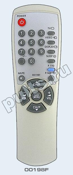 Данный пульт подходит к следующей аппаратуре: телевизор Samsung CS-14C8R телевизор Samsung CS-14F1R телевизор Samsung...