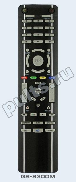"""Батарейки к пульту - бесплатно!  Пульт Триколор GS-8300M - это  """"родной """" пульт для. спутниковый ресивер Триколор..."""