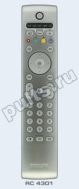Этот пульт подходит к следующей аппаратуре:PHILIPS телевизор 42FD9944/01S PHILIPS телевизор 20PF7835 PHILIPS...