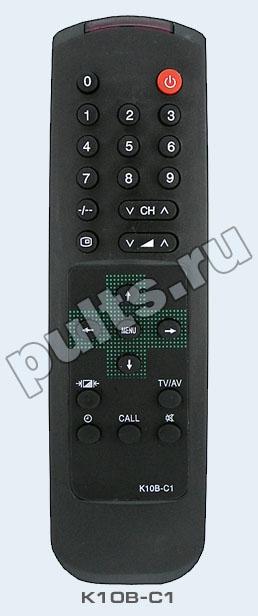 Rolsen (Ролсен) K10B-C1- это пульт ДУ подходящий для некоторых телевизоров из серии C. 2 батарейки для этого пульта...