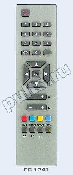 Пульт Vestel RC-1241 гарантированно совместим с несколькими телевизорами. телевизор Vestel VR54TF-1445 телевизор...