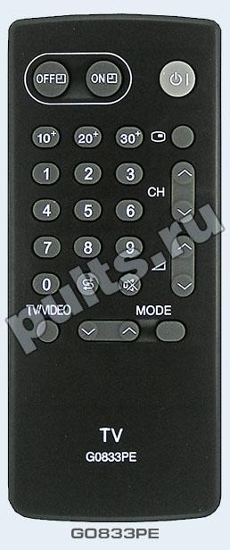 Пульт Sharp G0833PE подойдёт к 13 телевизорам марки Sharp. телевизор Sharp 14B-SC телевизор Sharp 14BN1 телевизор...